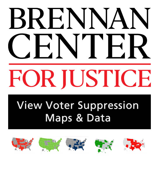 Voter Suppression Maps & Data